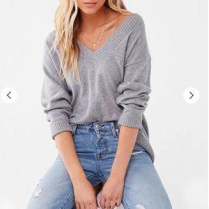 Brushed Marled Sweater